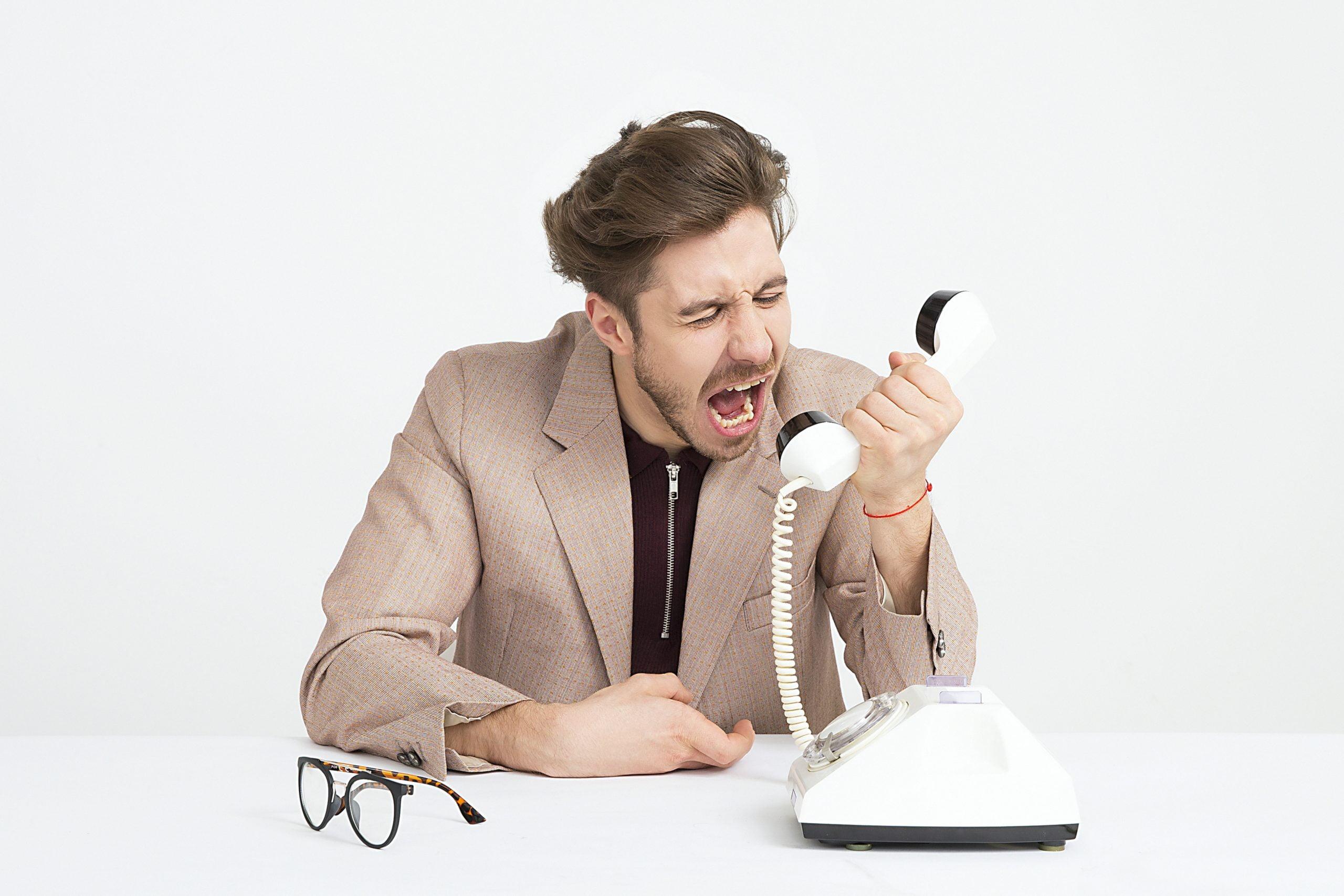 marketing scam call